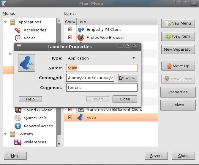 Install Vuze on Ubuntu 10 04 and 10 10 | DetectorPRO